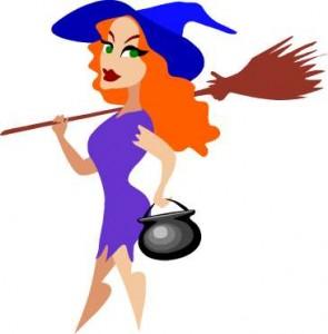 witch cartoon cute