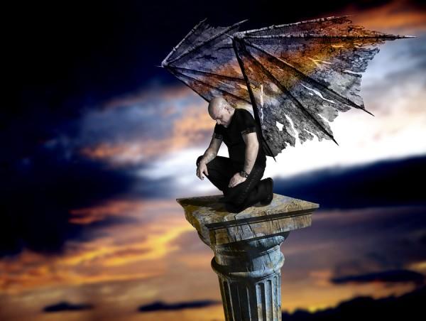 Male dark angel