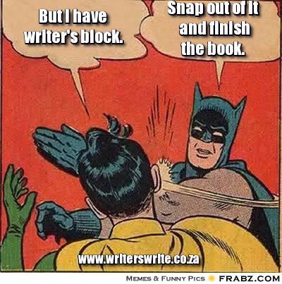 Holy Writer's Block Batman