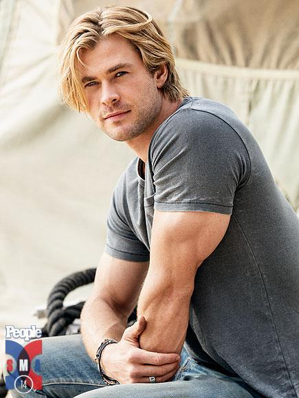 Chris Hemsworth People Magazine