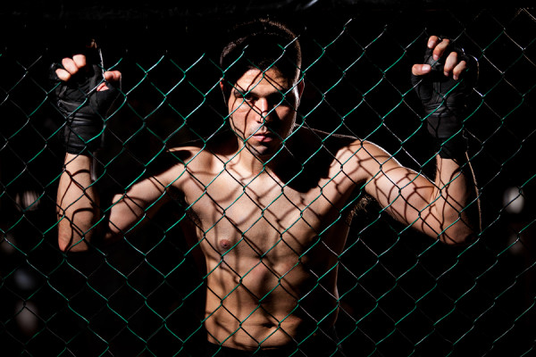 Fearles MMA Fighter ready to fight