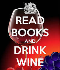 read books and drink wine